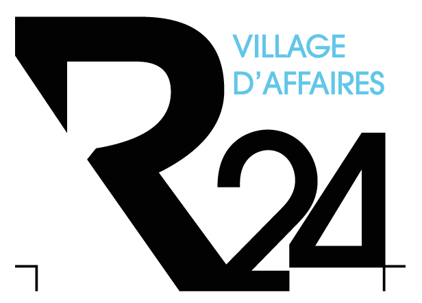 Logo R24 village d'affaires à Lyon